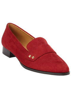 The Kenzie Flat by Comfortview®, CRIMSON