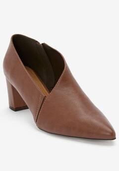 The Leigh Shootie by Comfortview®, COGNAC
