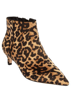 The Meredith Bootie by Comfortview®, LEOPARD