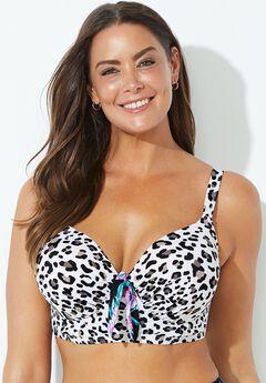 Confidante Bra Sized Underwire Bikini Top,