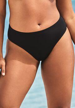 Ashley Graham Fearless High Waist Bikini Bottom,
