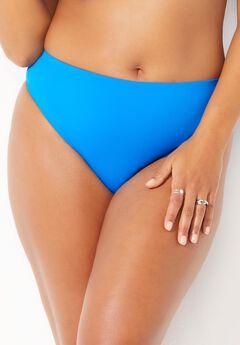 Ashley Graham Executive Bikini Bottom, POOLSIDE BLUE