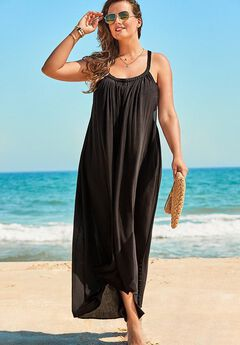 Candance Braided Cover Up Maxi Dress,