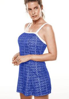 Crochet Swimdress, DEEP BLUE