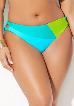 Romancer Colorblock Bikini Bottom,