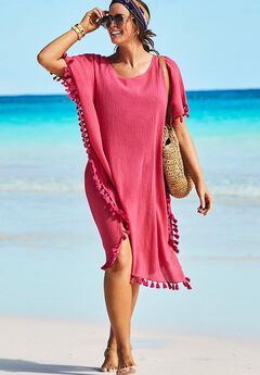 Everly Pom Pom Cover Up Tunic,