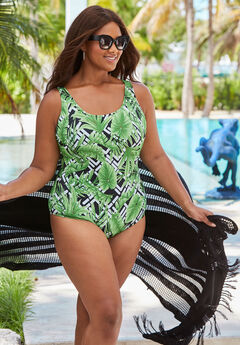 6bba98a81a2 Women's Plus Size One Piece Swimsuits | Jessica London