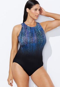 Open-Back Swimsuit,