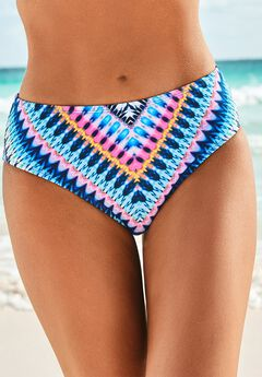 Hipster Swim Brief, RAINBOW STRIPE