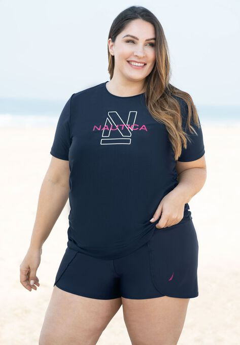 High-Waisted Swim Short by Nautica