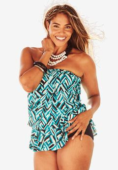 Tie-Waist Swimsuit by Maxine of Hollywood,