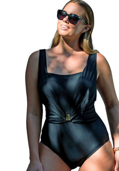 Belted Maillot by Swim 365,