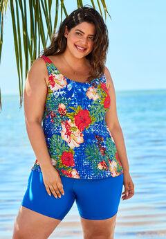Beach Belle Classic Tankini Top,