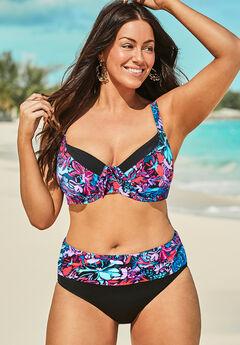 Captain Underwire Bikini Set with Foldover Brief,