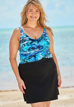 Underwire Swim Dress,