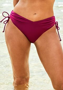 Ashley Graham Adjustable Bikini Bottom,