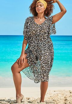 Ariana V-Neck Cover Up Caftan,
