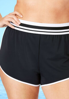 Sporty Swim Boyshort,