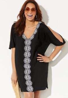Hadley Embroidered Cover Up Tunic,