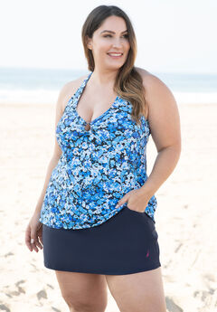 V-Neck Tankini Top by Nautica,