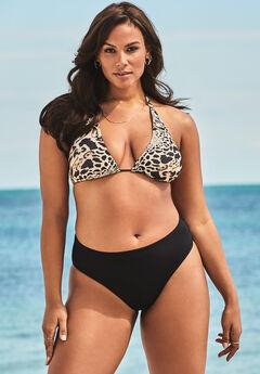 Ashley Graham Fearless High Waist Bikini Set,