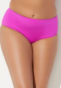 Mid Waist Swim Brief, BEACH ROSE