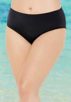 Mid Waist Swim Briefs,