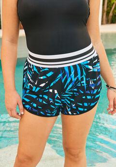 Sporty Swim Boyshort,