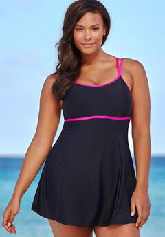 Lingerie Strap Swimdress,