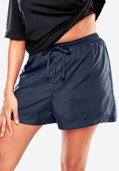 Taslon® Swim Short with Built-In Brief,