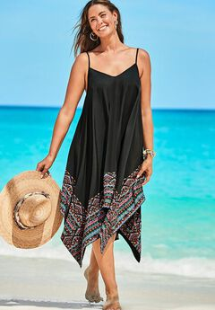 Diane Handkerchief Cover Up Dress,