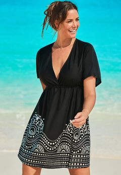 Kate V-Neck Cover Up Dress,