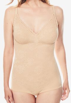Smooth Lace Body Briefer by Secret Solutions®,