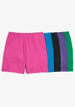5-Pack Cotton Boxer by Comfort Choice®, BRIGHT PACK