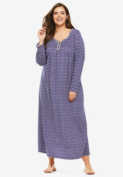 Fit & Flare Sleep Gown,