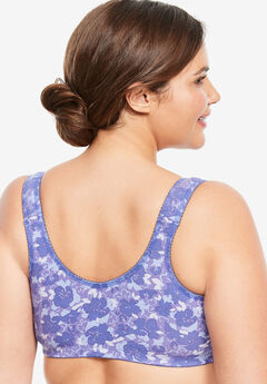 ed24ecc927 Cotton Knit Leisure Bra by Leading Lady®