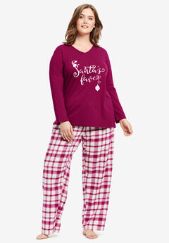 Cozy Pajama Set by Dreams & Co.®,