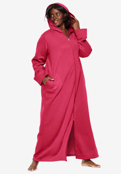Hooded Fleece Robe by Dreams & Co.®,