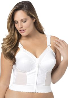 Front Hook Longline Bra from Fully by Exquisite Form®,
