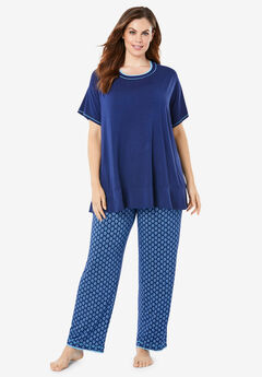 Dreams & Co.® Flounced PJ Set,
