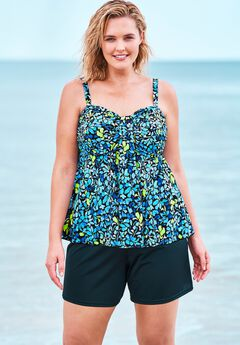Flyaway Tankini Top by Fit 4 U®,