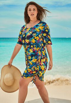 Tie-Waist Swim Coverup by Swim 365,