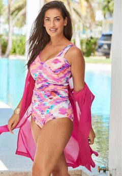 Shirred One-Piece,