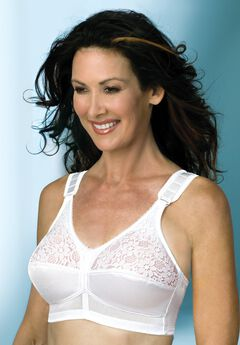 Comfort Plus Front hook Perma-Form® Bra,