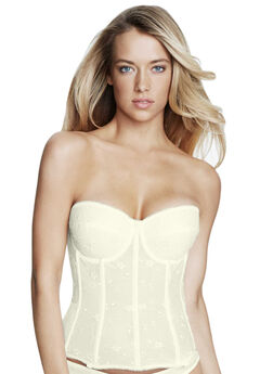 Dominique™ Embroidered Lace Torsolette,