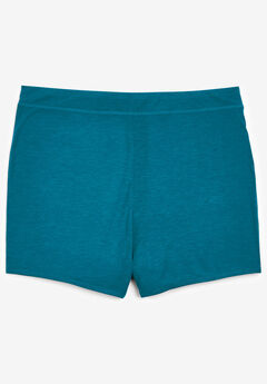 2-Pack Breathe Boyshort, DEEP TEAL