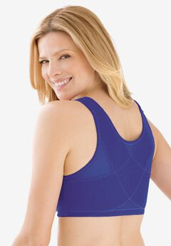Lace Wireless Posture Bra by Comfort Choice®, DEEP PURPLE LAVENDER