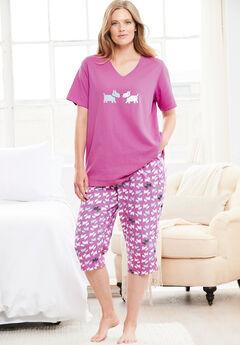V-Neck Sleep Tee by Dreams & Co.®,