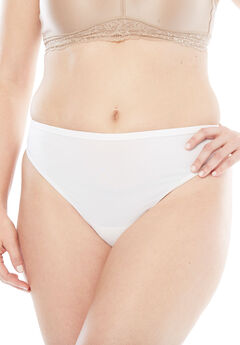 Microfiber Thong by Comfort Choice®,