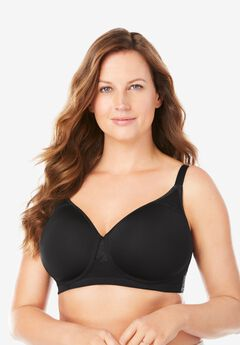 Stay-Cool Wireless T-Shirt Bra ,